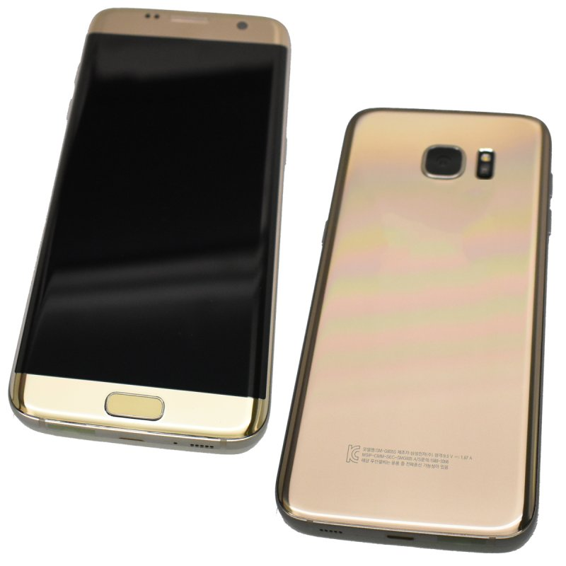 samsung galaxy s7 edge sm g935s 64gb smartphone gold. Black Bedroom Furniture Sets. Home Design Ideas