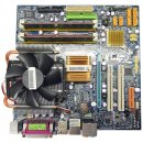 Gigabyte GA-G33M-DS2R Mainboard with CPU Intel Q6600 and...
