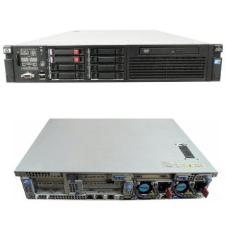 HP ProLiant DL380 G6 Server XEON E5504 2.00GHz QC 16 GB RAM 2 x 146 GB HDD, ROM