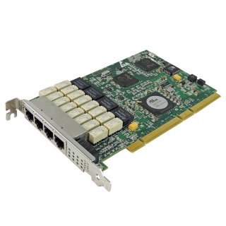 Silicom Riverbed PXG4BPI 4-Port Gigabit Ethernet PCI-X Bypass Server Adapter