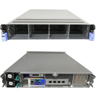 Tyan Rack 2U Server TN71-BP012 1x IBM POWER8 10-Core CPU 2,926 GHz 2x 750Watt