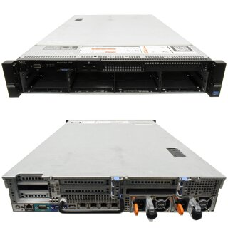 Dell PowerEdge R720 Server 2U H710p mini 2x E5-2660 CPU 32GB RAM 8x3.5 Bay
