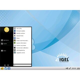 IGEL Thin Client H820C Intel 847 1.10GHz CPU 1GB RAM 2GB SSD Igel Universal Desktop OS 2 5.13.100.01 without / ohne Lizenz