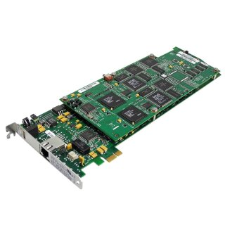Dialogic D/480JCTT1EW Single Port Media Board MPN: 44-0016-02, 56-0338-03