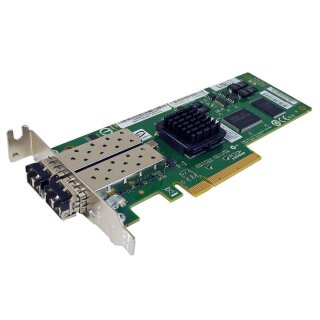 LSI Logic 2-Port 4 Gbps FC PCIe x8 Host Bus Adapter LSI7204EP-LC PN L3-25065-00B