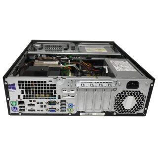 HP EliteDesk 800 G1 SFF Small form factor PC i5-4590 3.30GHz CPU 4GB DDR3 RAM 500GB SATA 3.5 HDD DVD-RW Win10 Pro