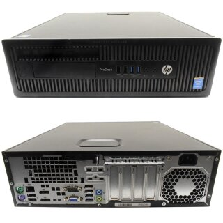 HP EliteDesk 600 G1 SFF Small form factor PC i3-4160 3.60GHz CPU 8GB DDR3 RAM 500GB SATA 3.5 HDD Win10 Pro