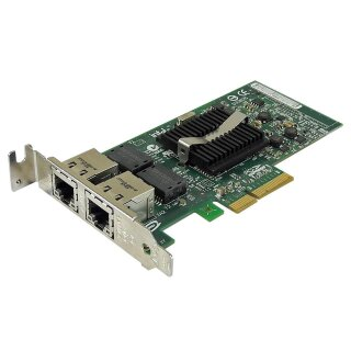 IBM Intel PRO/1000 PT LP Dual Port Adapter 10/100/1000Base-T 39Y6128 39Y6127
