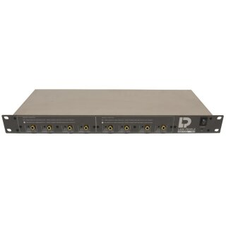 Lake People ANA-Tool F822 2x BALANCED IN  to UNBALANCED OUT Amplifier 8 CH 1U