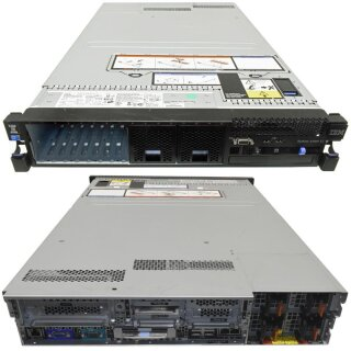 IBM Server System X3690 X5 2x E7-4850 10C 2.00GHz CPU 32GB DDR3 RAM 8Bay 4x PSU