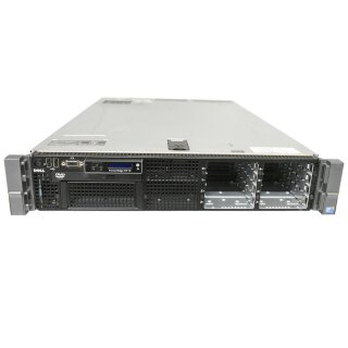 Dell PowerEdge R710 Server 2x X5650 2,66 GHZ CPU 16GB RAM 2,5 Zoll 8 Bay Perc6i