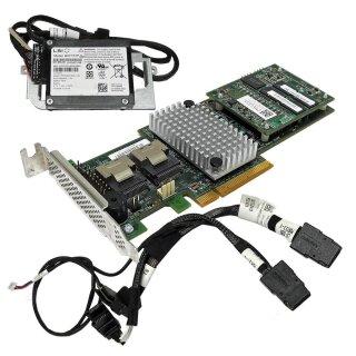 03 Low Profile LSI SAS3081E-S Pcie 8-port SAS Raid LP 371-3255-02-01