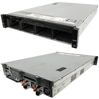 Dell PowerEdge R720 Rack Server 2x E5-2630 2,3 GHZ CPU 32GB RAM 8x 3.5 Bay