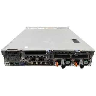 Dell PowerEdge R730xd Rack Server 2U ohne CPU mit CPU Kühler 12x 3.5 Zoll Bay 2x 2.5 Zoll Bay 2x PWS